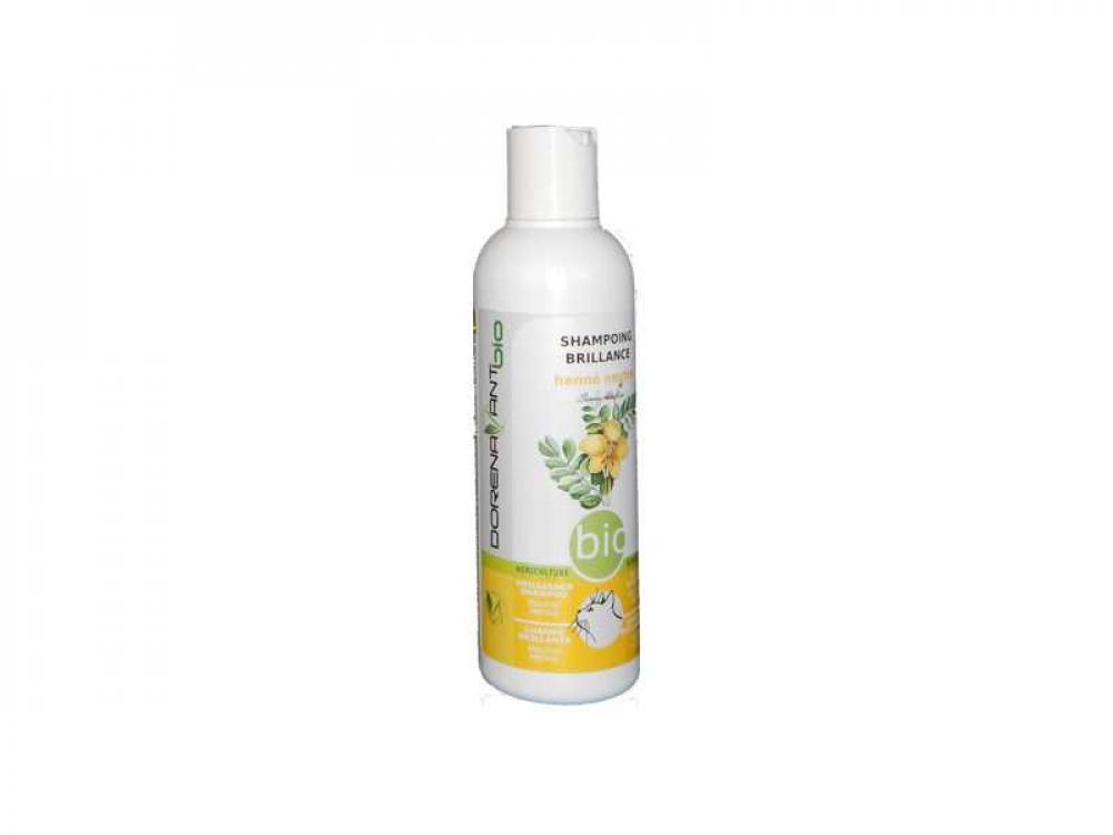 Organic Brilliance Shampoo with Senna Italica and Black Cumin Oil