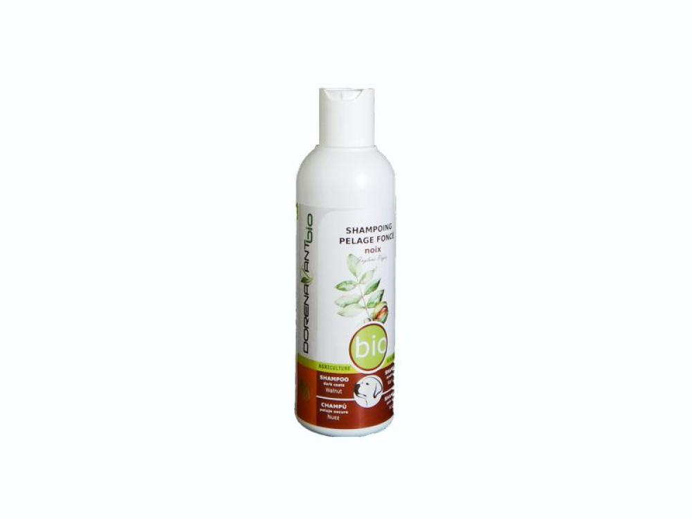Organic Shampoo for Dark Coats with Walnut and Black Tea